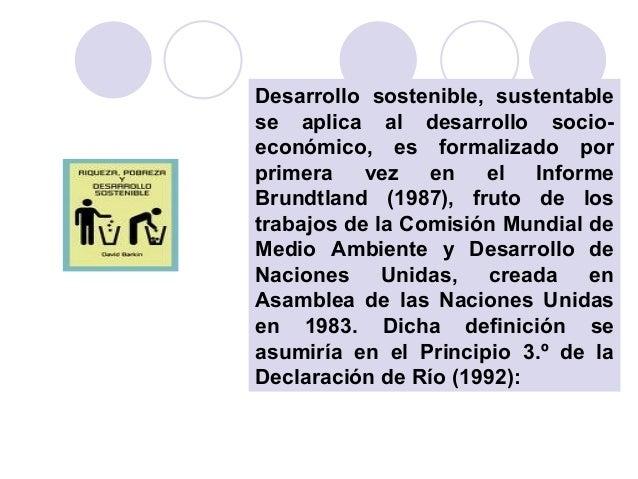Desarrollo sostenible-Visión Global Slide 3