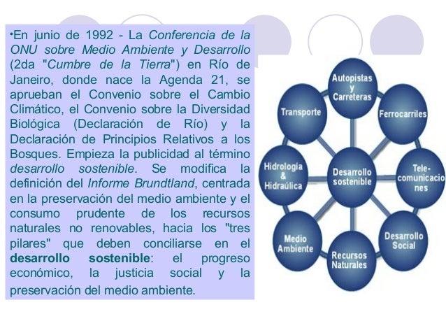 """En junio de 1992 - La Conferencia de la ONU sobre Medio Ambiente y Desarrollo (2da """"Cumbre de la Tierra"""") en Río de Janeir..."""