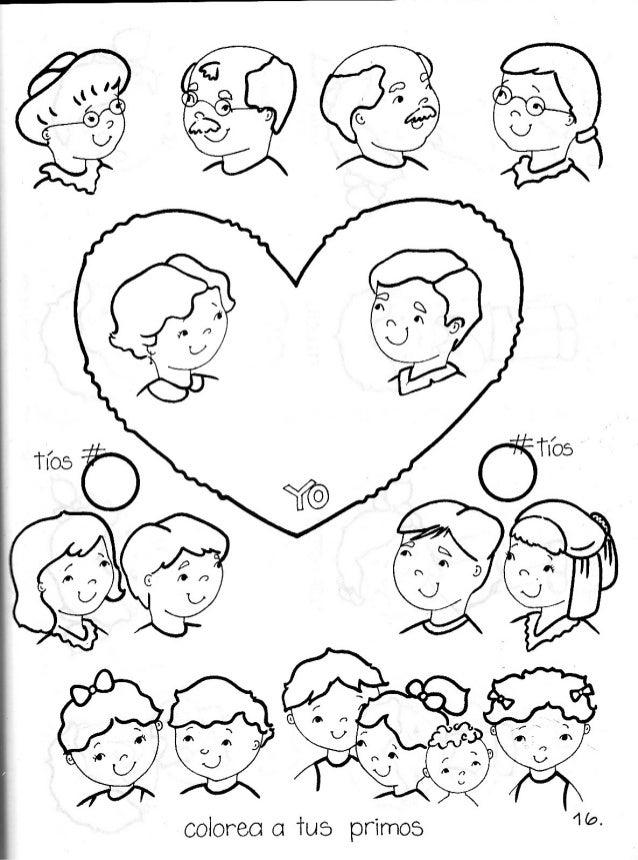 Image Of Dibujo Para Colorear Arbol Genealogico Familiar Dibujo para ...