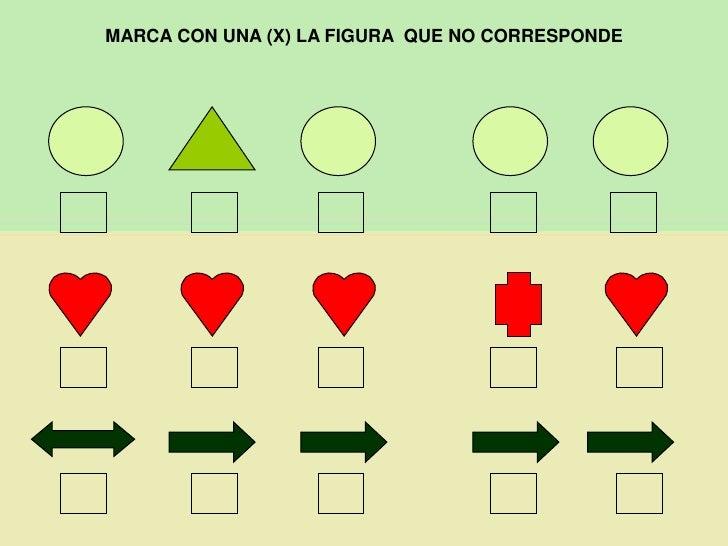 MARCA CON UNA (X) LA FIGURA  QUE NO CORRESPONDE<br />