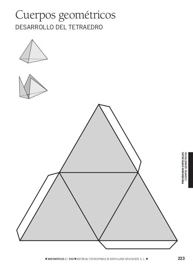 826464 _ 0223-0236.qxd  12/2/07  10:16  Página 223  Cuerpos geométricos  PROGRAMAS ESPECIALES CUERPOS GEOMÉTRICOS  DESARRO...