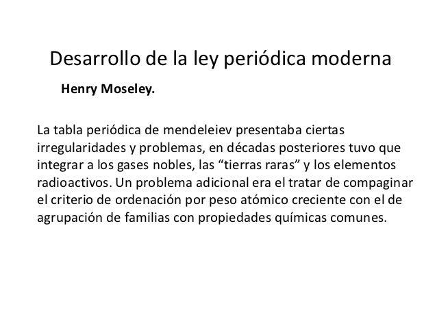 Desarrollo de la tabla peridica actual 7 desarrollo de la ley peridica moderna urtaz Choice Image