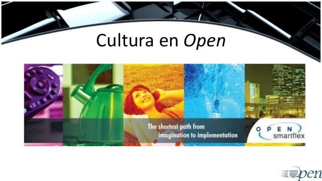 Cultura en Open
