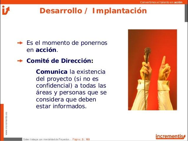 Desarrollo e implantacion de un PROYECTO Slide 3