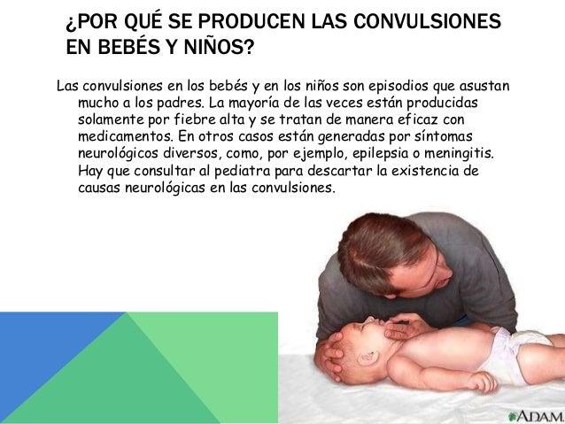 sintomas convulsiones en niños