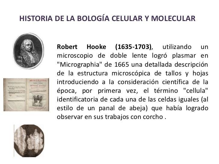 Historico celular biologia