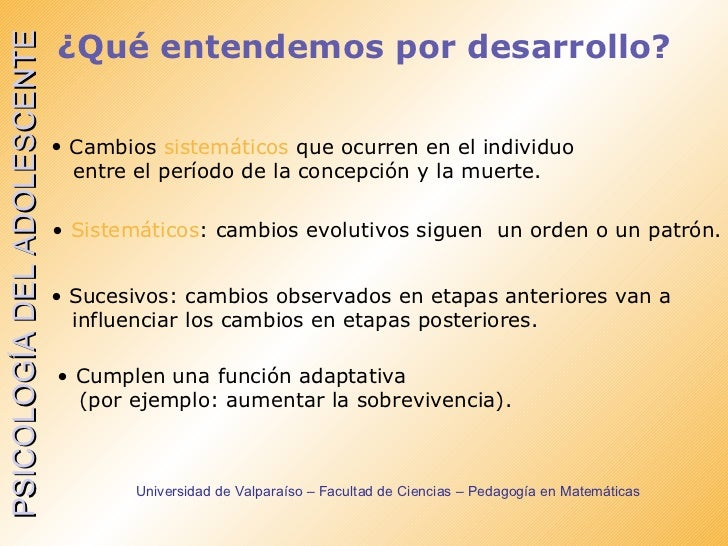 desarrollo humano psicologia definicion