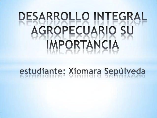 La carrera de Ingeniería Agropecuaria, nace como unarespuesta a las demandas de desarrollo agropecuario queimpone la globa...