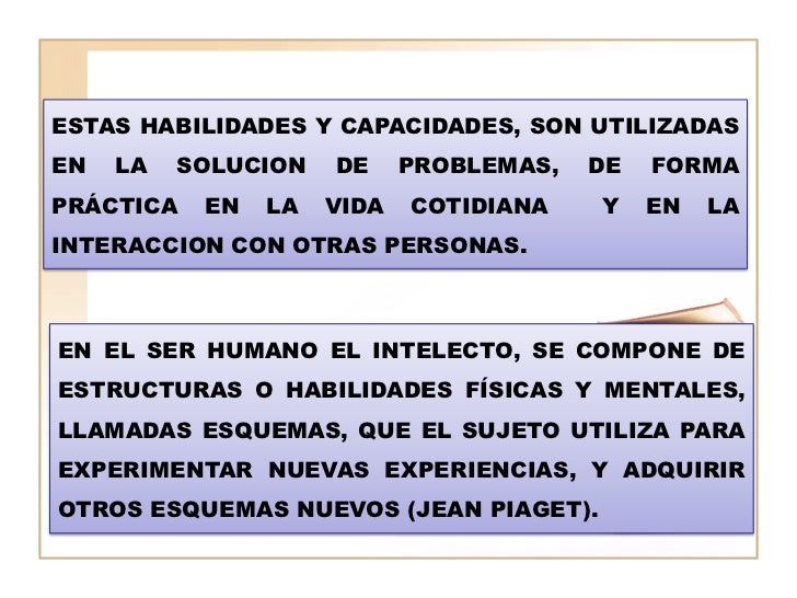 ESTAS HABILIDADES Y CAPACIDADES, SON UTILIZADASEN   LA   SOLUCION   DE     PROBLEMAS,   DE   FORMAPRÁCTICA   EN   LA   VID...