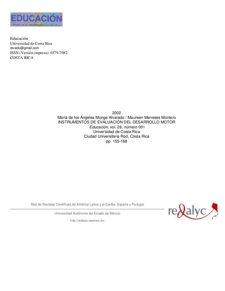 EducaciónUniversidad de Costa Ricarevedu@gmail.comISSN (Versión impresa): 0379-7082COSTA RICA                             ...