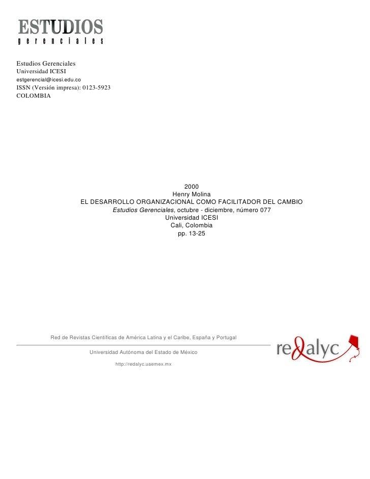 Estudios GerencialesUniversidad ICESIestgerencial@icesi.edu.coISSN (Versión impresa): 0123-5923COLOMBIA                   ...