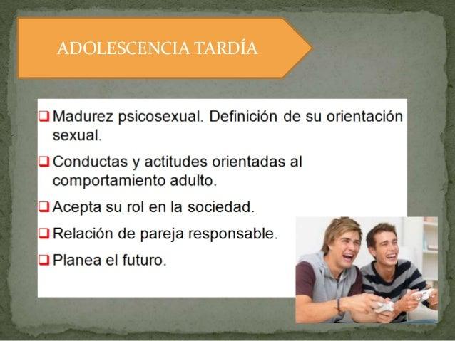 Desarrollo psicosexual en la adolescencia wikipedia
