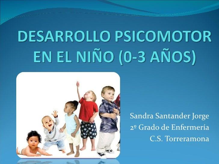 Sandra Santander Jorge2º Grado de Enfermería      C.S. Torreramona