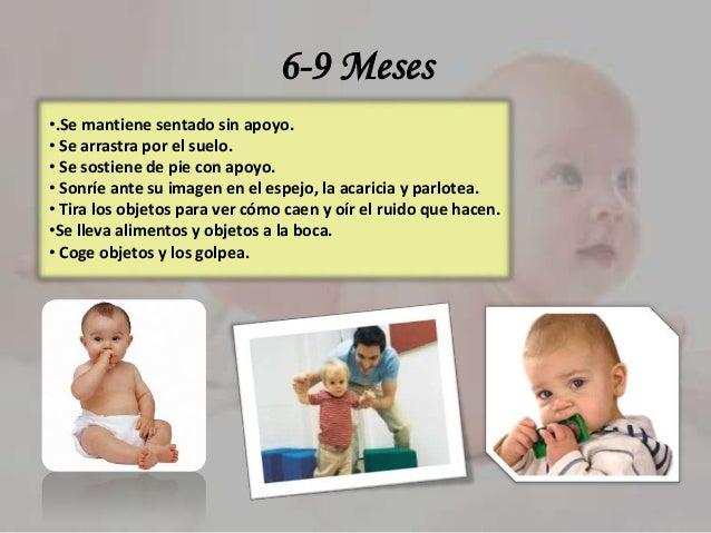 Desarrollo psicomotor de 0 a 3 a os - Desarrollo bebe 6 meses ...