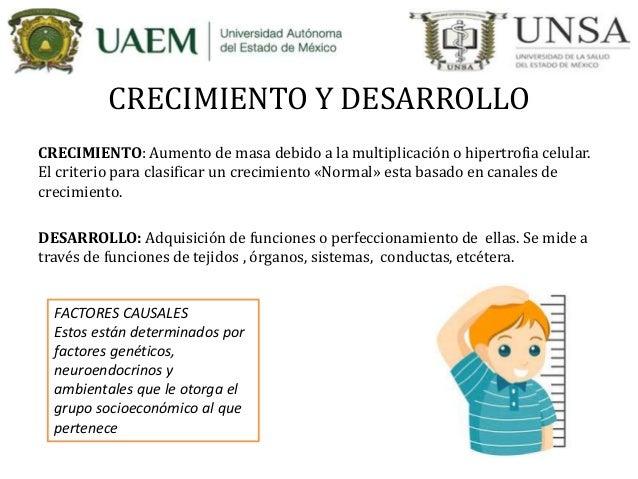 Desarrollo psicomotor del niño y antropometria  Slide 2