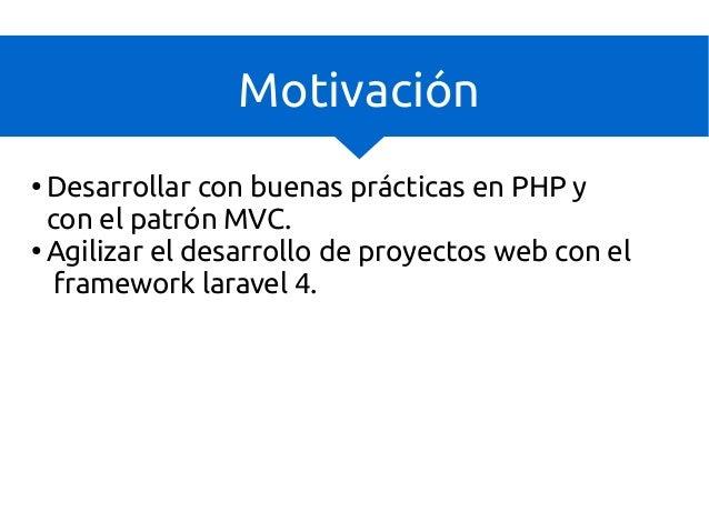 Desarrollo rápido de apps web con laravel - DevAcademy Slide 3