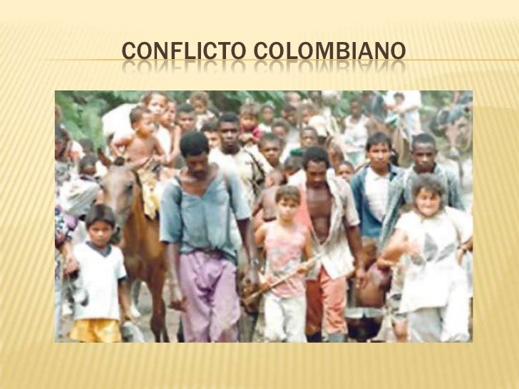 CONFLICTO COLOMBIANO<br />