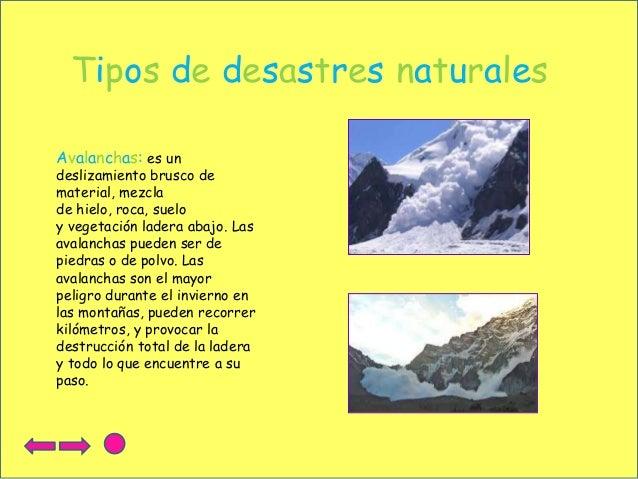 Desastres naturales - Tipos de piedras naturales ...