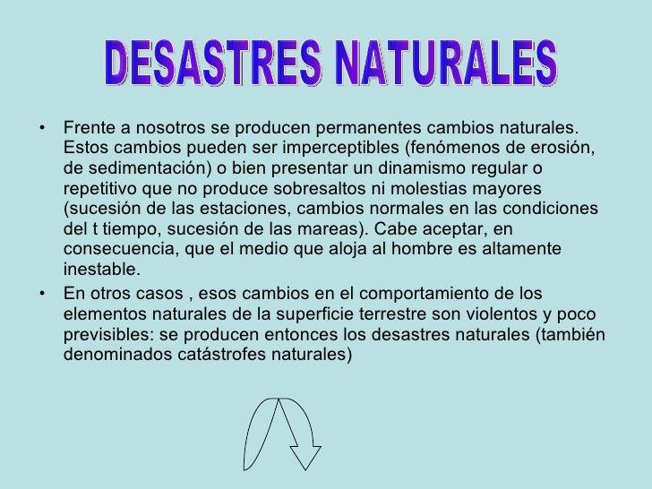 Desastres naturales en argentina power - Aromatizantes naturales para la casa ...