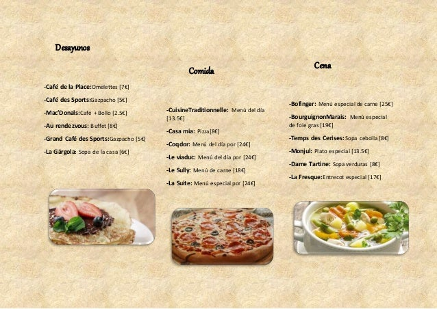 Tour De Gastronomia Francesa