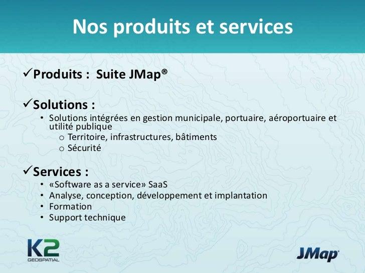 JMap 4.0 – Une plate-forme d'intégration cartographique pour les organisations Slide 3