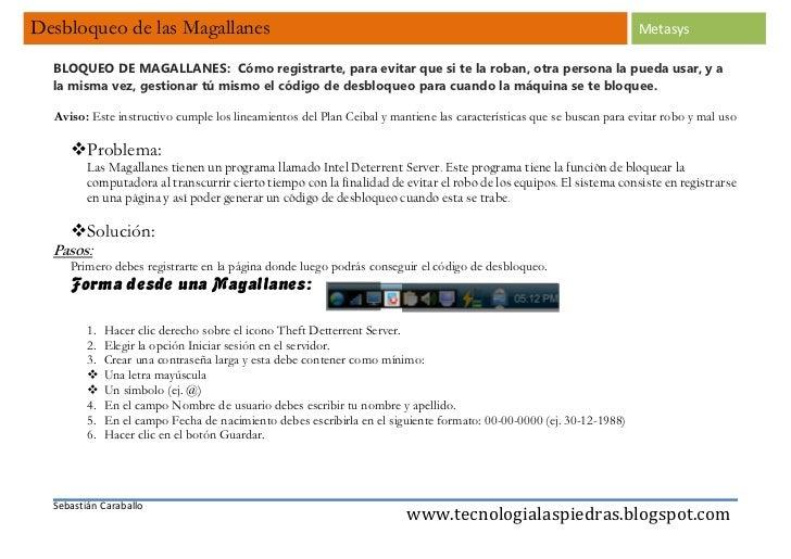 Desbloqueo de las Magallanes                                                                                          Meta...