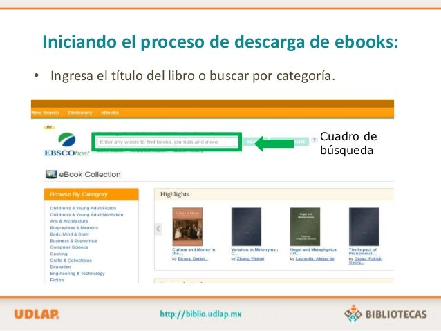 Descarga De Libros Electrónicos En EBooks Collection (EBSCO