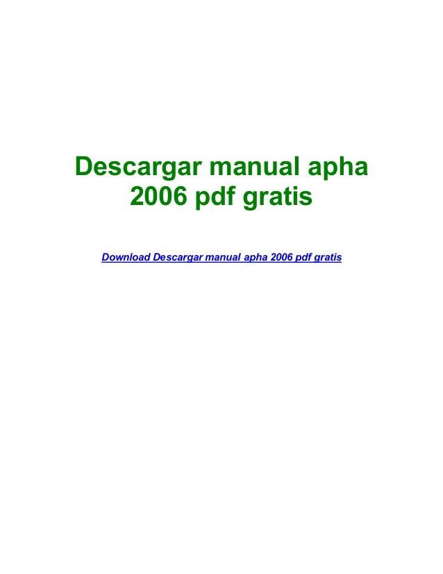 apha 2006 gratis