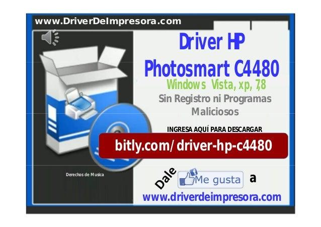 PARA WINDOWS HP 7 BAIXAR DA IMPRESSORA C4480 DRIVER