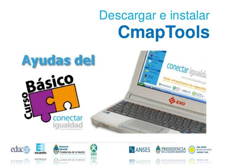 Descargar e instalar   CmapTools