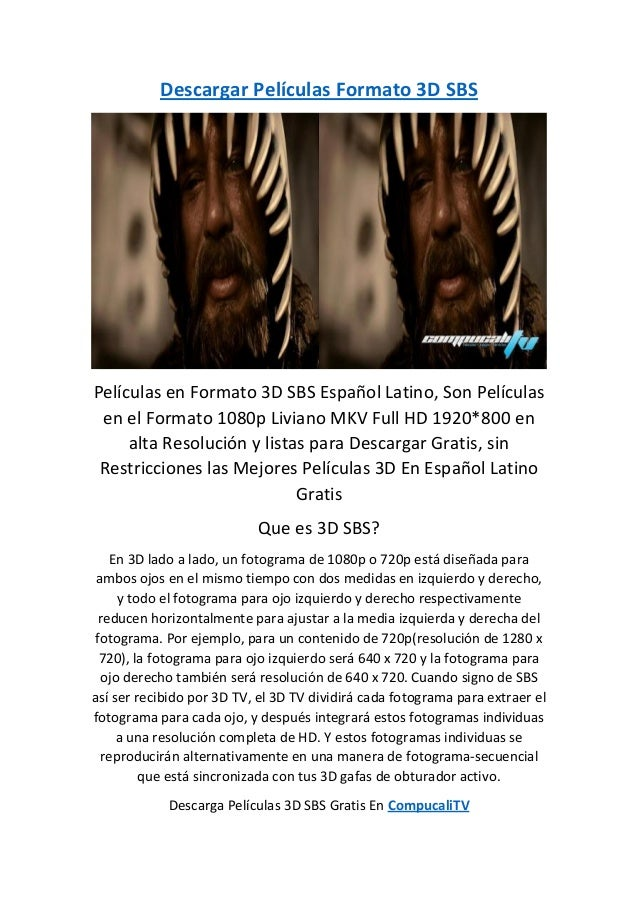 descargar peliculas 3d latino