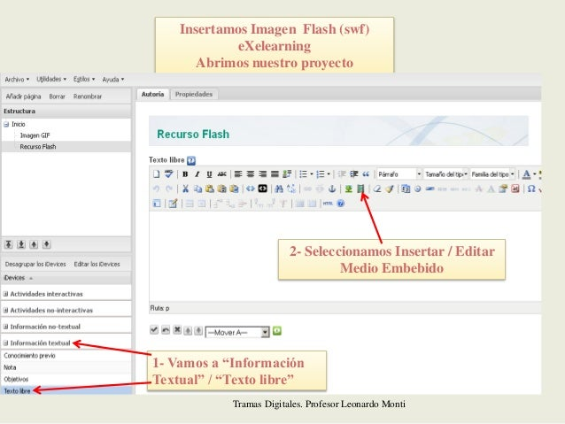 Tutorial para descargar recursos en gif - flash insertarlo en exelear…