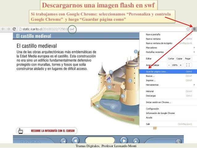 Tutorial para descargar recursos en gif - flash insertarlo