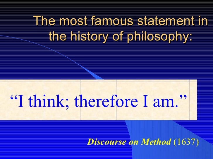 descartes three stages of doubt first meditation Descartes: starting with doubt first, descartes noted that the testimony of wallowing in the depths of cartesian doubt at the end of the first meditation.