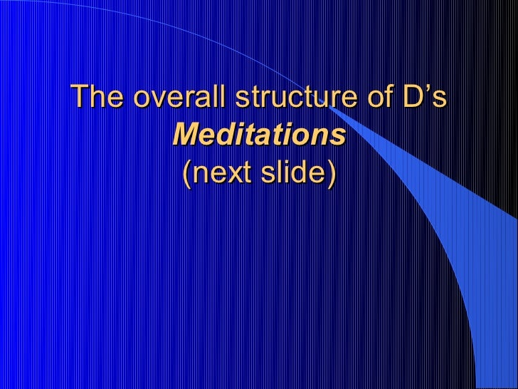 descartes skepticism and the matrix Transcript of descartes and the matrix red and blue pill scene neo takes his seat across from morpheus,  descartes's meditation quote from: second meditation.