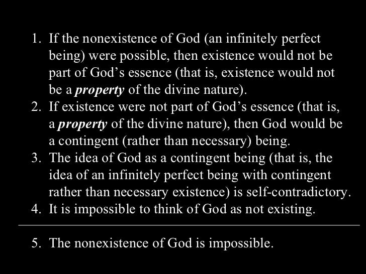 descartes argument of the existence of god in the third meditation How does descartes try to prove the existence of god in his meditations metaphysics playlist:.