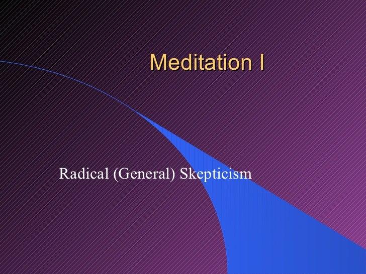 descartes meditation iii Meditation iii: an argument for the existence of god the meditation iii argument for the existence of god iii what is the role of god for descartes' theory.