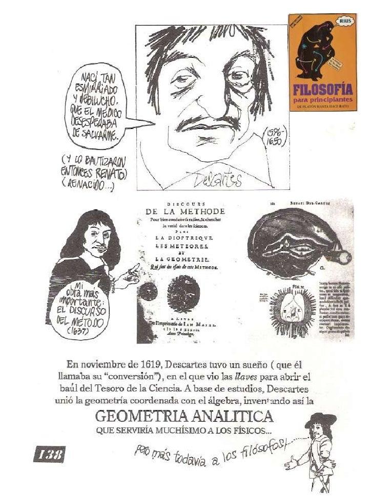 Descartes: cómic de Rius