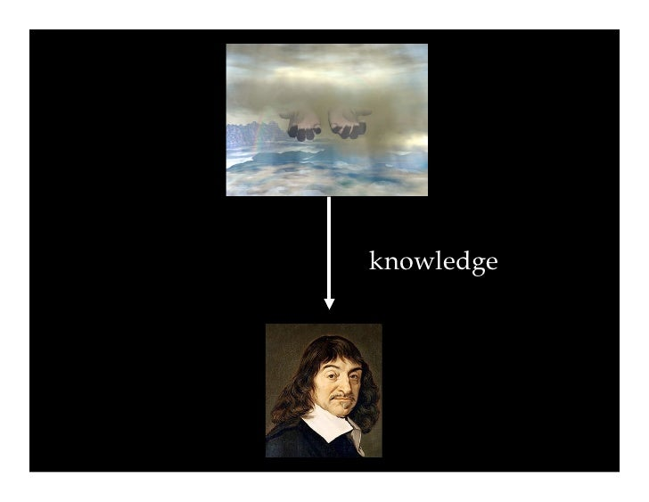 true knowledge descartes vs plato Descartes, plato and the cave  allegories all present the message that true understanding requires  indeed, immortal so, for plato as for descartes, the.