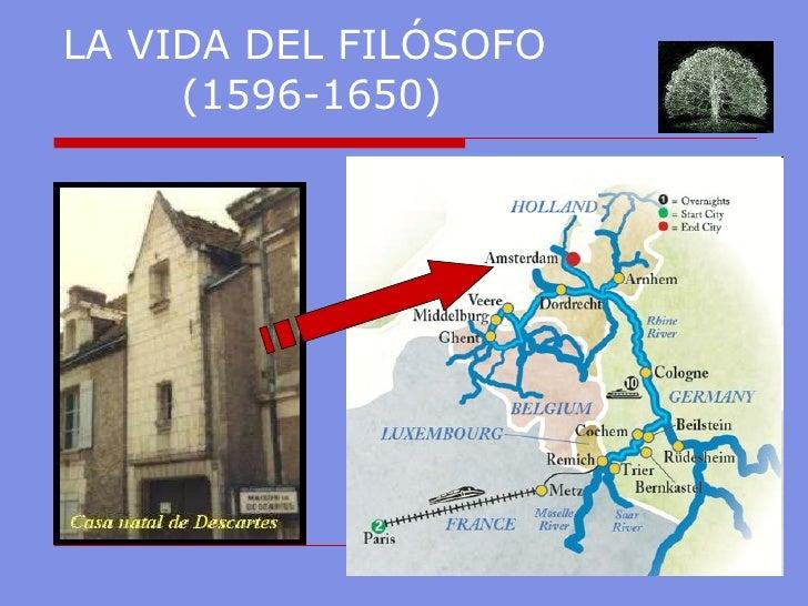 LA VIDA DEL FILÓSOFO  ( 1596-1650)