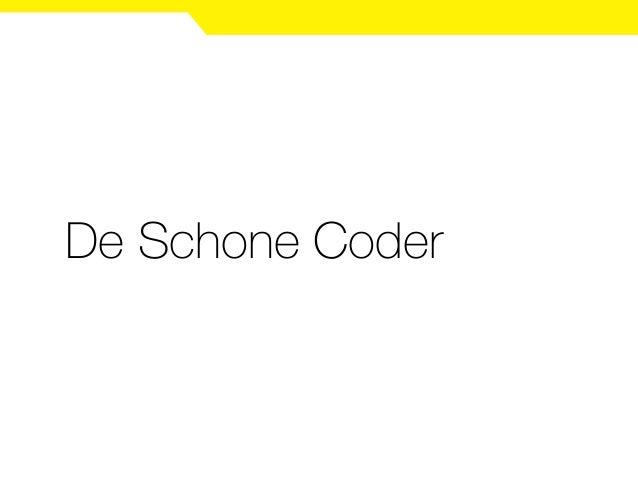 De Schone Coder