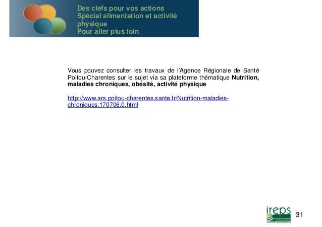 Vous pouvez consulter les travaux de l'Agence Régionale de Santé  Poitou-Charentes sur le sujet via sa plateforme thématiq...