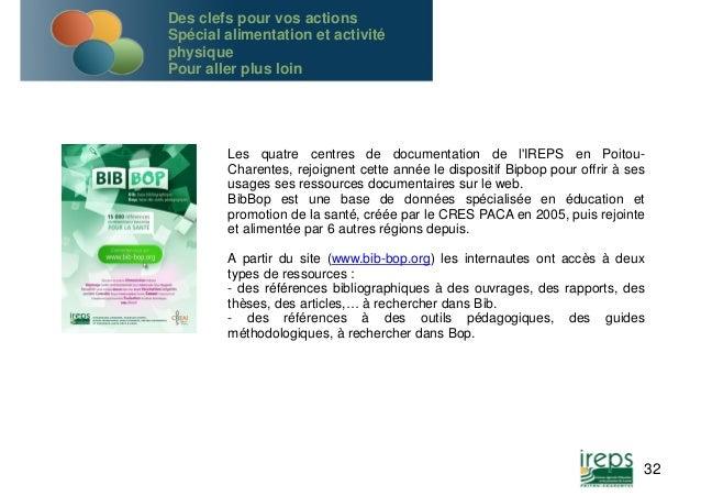 Les quatre centres de documentation de l'IREPS en Poitou-  Charentes, rejoignent cette année le dispositif Bipbop pour off...