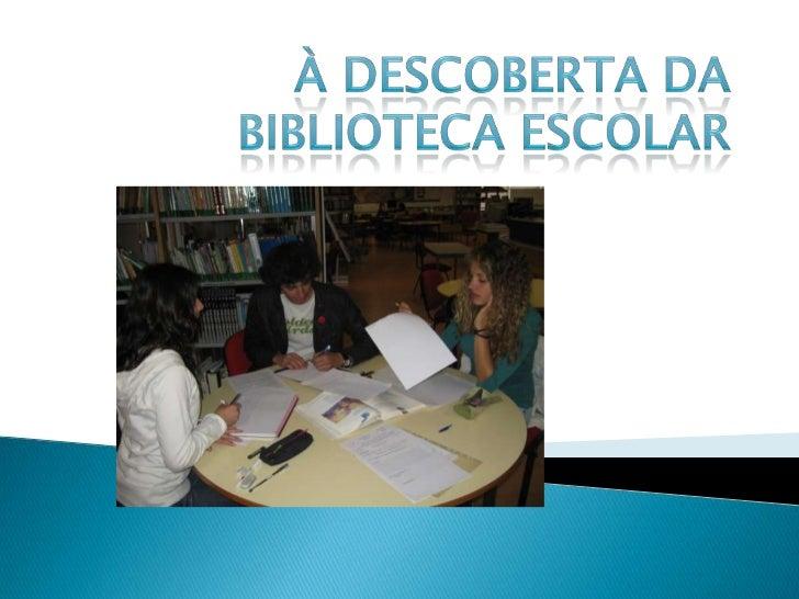    Professoras    Sandra Santos (Coordenadora/Professora Bibliotecária);    Cristina Jorge    Susana Venâncio   Assisten...