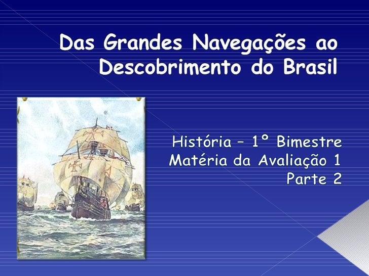 Descobrimento Do Brasil Slide 1