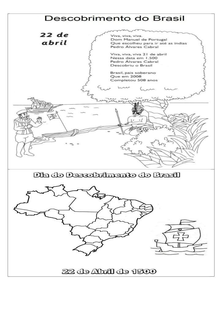 Descobrimento Do Brasil Desenho
