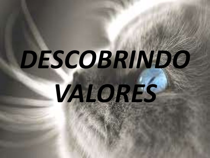 DESCOBRINDO  VALORES