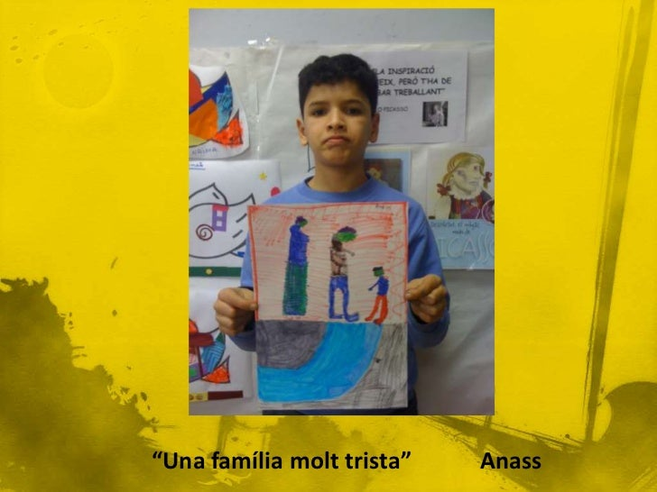 """Fem la nostra pròpia versió del quadre        """"Maia amb una nina""""."""
