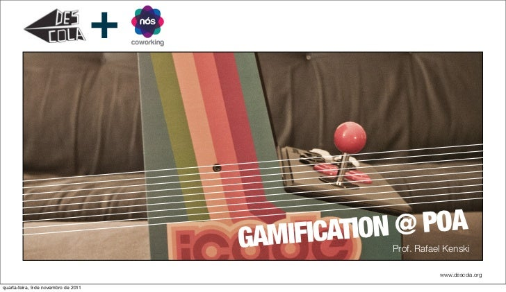 +                                          GAMIFICATION @ POA                                                      Prof. R...