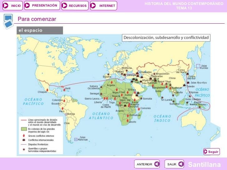 Descolonización y tercer mundo Slide 2